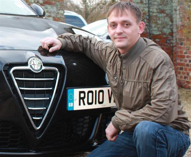 Athletics Fan Wins National Alfa Romeo Award