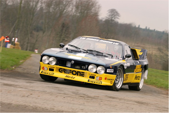 Think Rallying, Think Lancia at Race Retro 2011