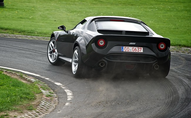 New Lancia Stratos hits 62 mph in 3.3 seconds