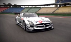 Susie Stoddart drives the Mercedes-Benz SLS AMG GT3 (Video)