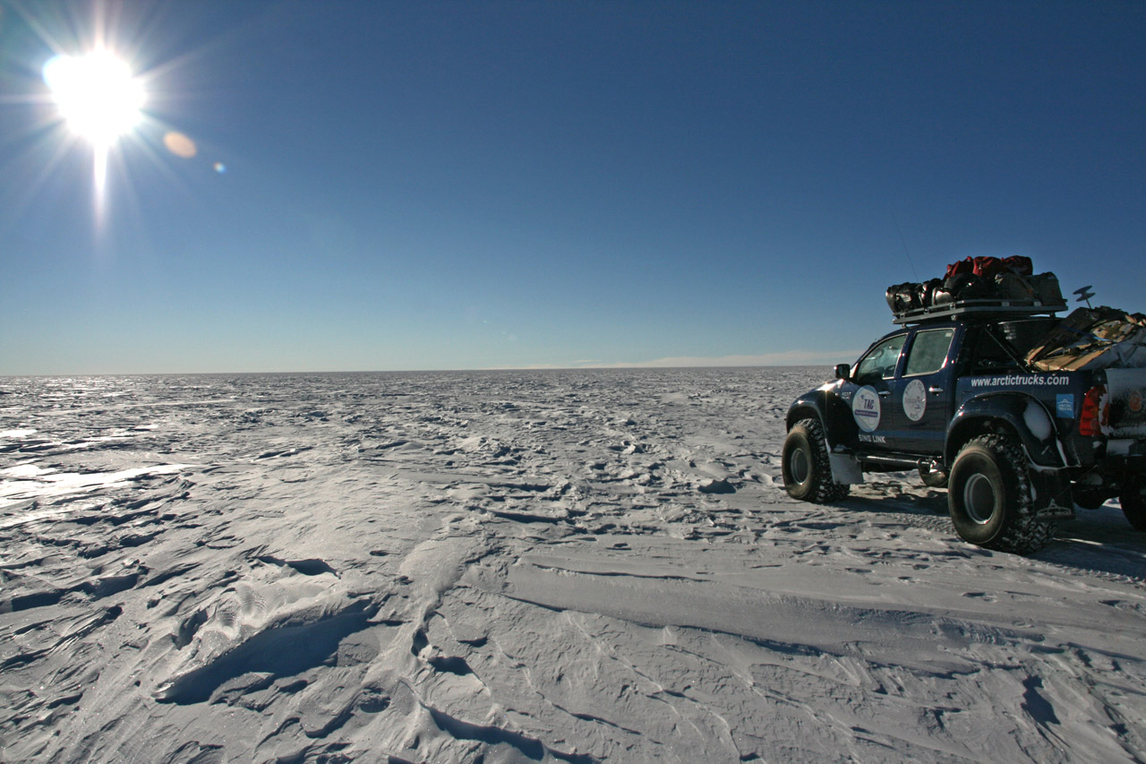 Toyota Hilux goes to South Pole