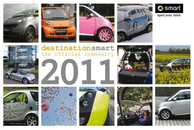 Smart Thinking: Charity Car Calendar