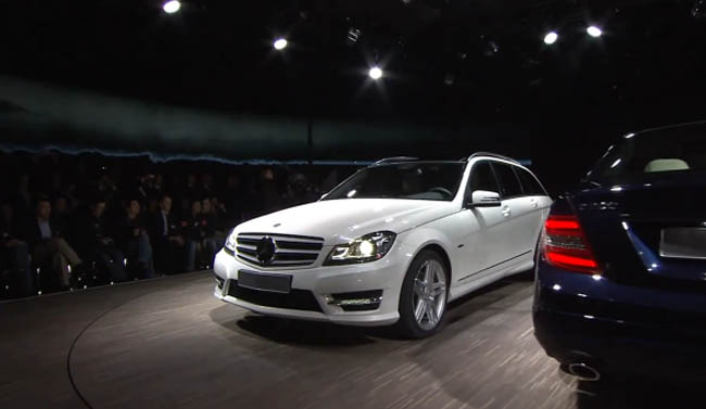 Video: 2011 Mercedes-Benz C-Class Facelift World Debut in Detroit