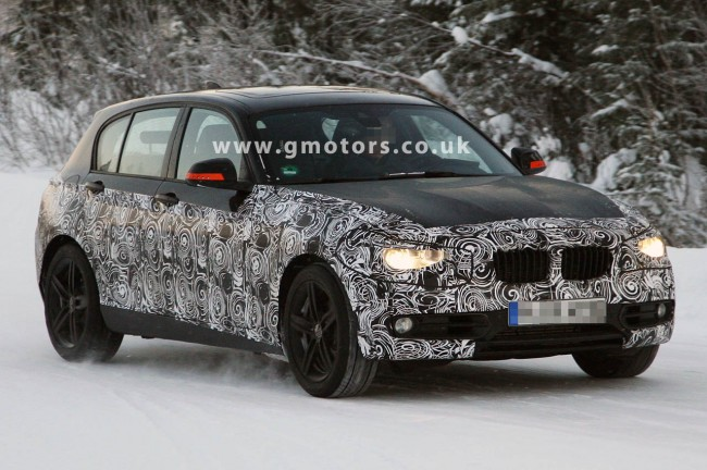 2012 BMW 1 Series 5-Door Spotted In Black