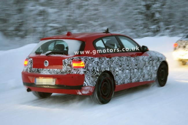 Spy Shots: Next-generation BMW 1 Series Winter Testing in Sweden
