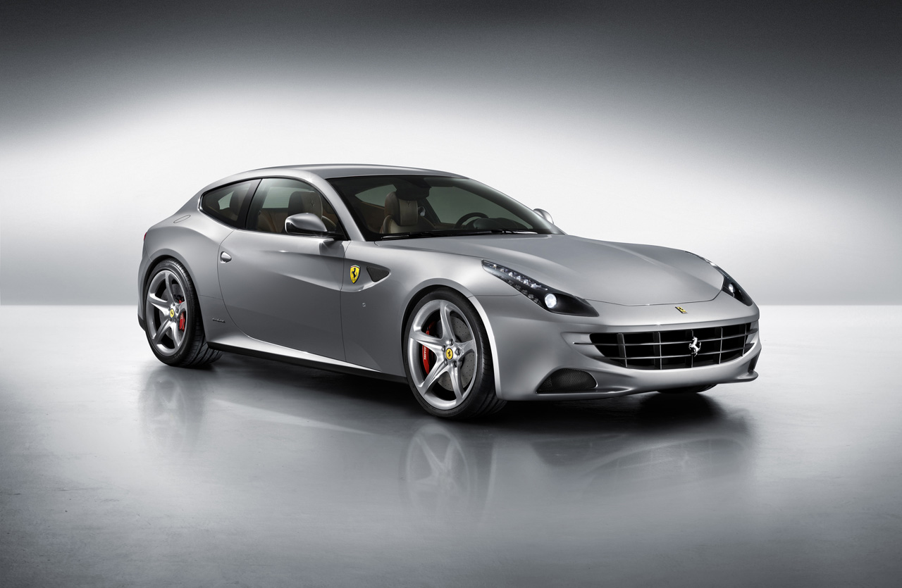 2012 Ferrari Four studio shot