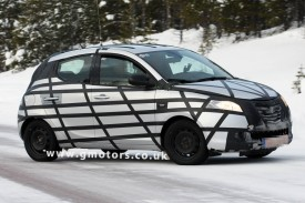 2012 Lancia Ypsilon Spotted With Less Disguise