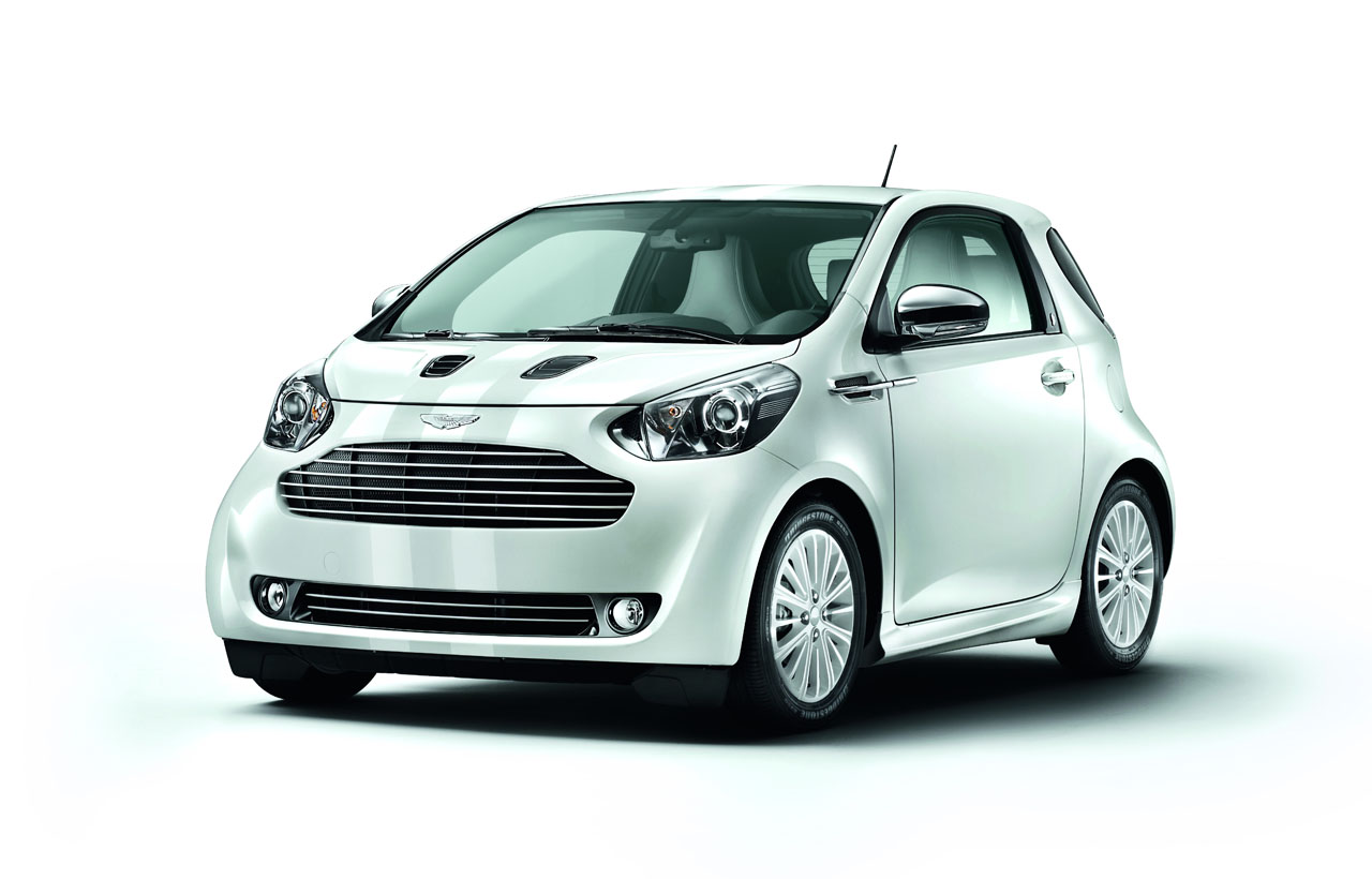 Aston Martin Cygnet Launch Edition White