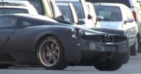 Video: Pagani C9 Prototype Road Testing in Italy