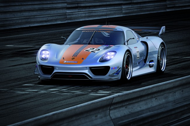 Detroit 2011: Porsche 918 RSR Concept Revealed