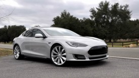 Video: Tesla Model S Alpha Hits The Road