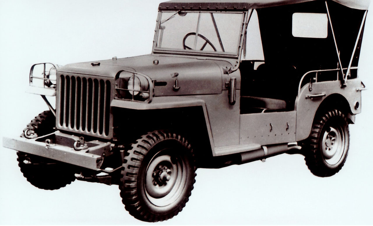 Toyota Land Cruiser BJ soft top