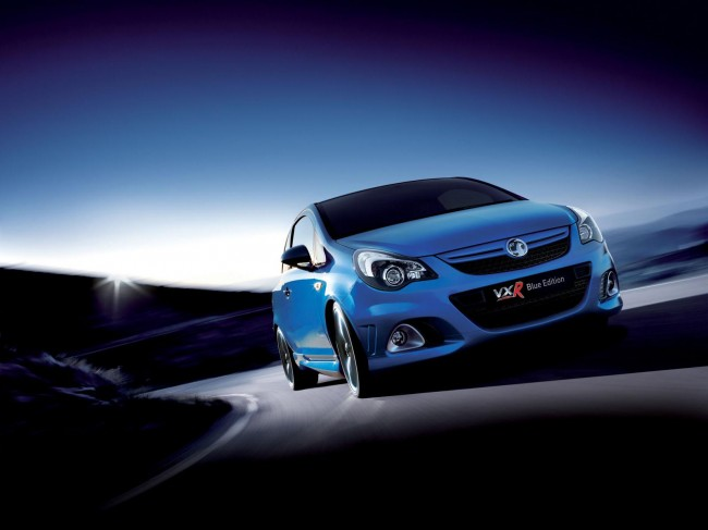 Vauxhall Corsa Vxr Blue Edition. Vauxhall Corsa VXR Blue is