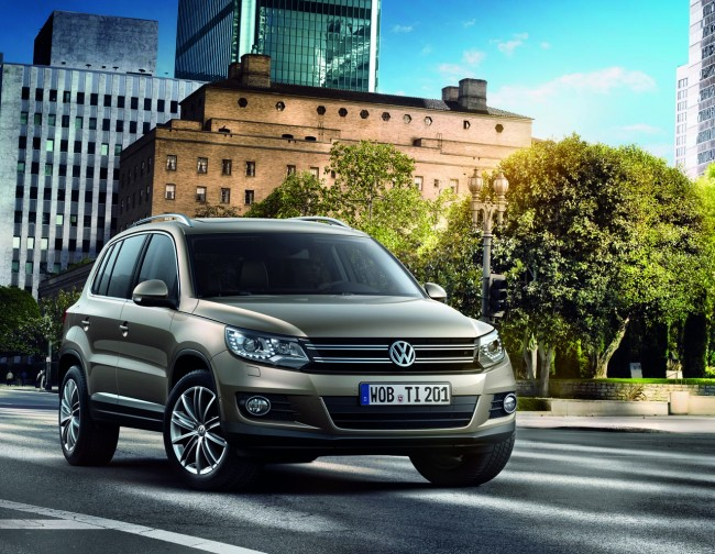 Volkswagen Releases First Official Images Of Revised Tiguan