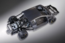Lamborghini Aventador LP700-4 Rolling Chassis Unveiled