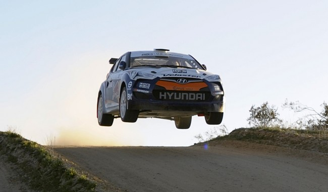 500 Horsepower RMR Hyundai Veloster Rally Car Revealed