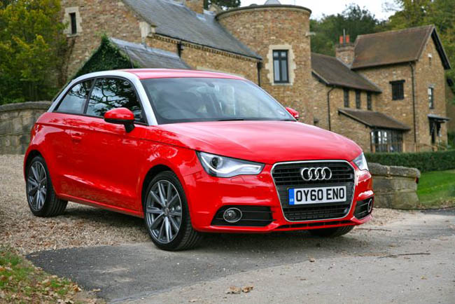 Red Audi A1