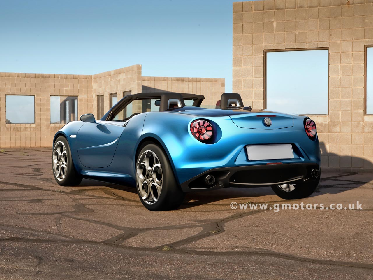 alfa romeo 4c spider render cuco 39 s blog. Black Bedroom Furniture Sets. Home Design Ideas