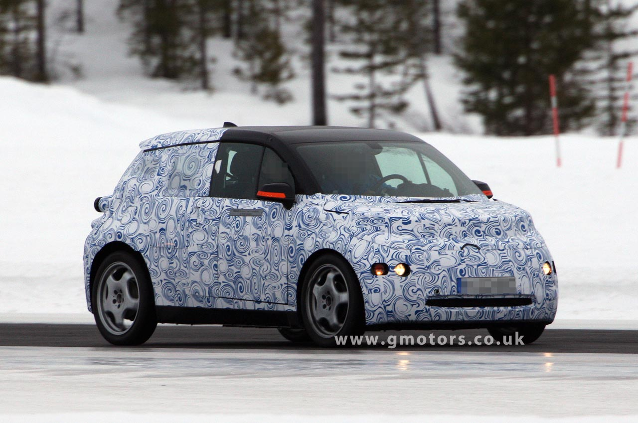 bmw i3 megacity spotted for the first time. Black Bedroom Furniture Sets. Home Design Ideas