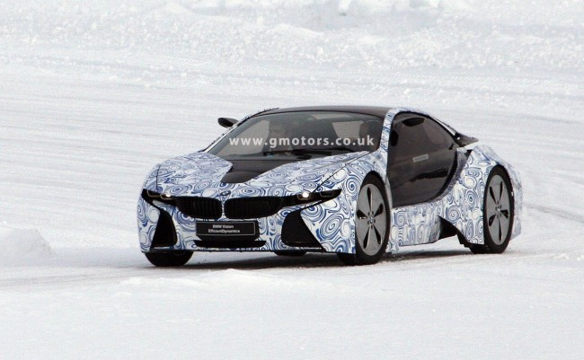 BMW i8 (Vision EfficientDynamics) Winter Testing In Sweden