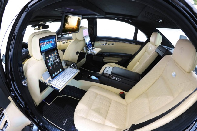 "BRABUS ""iBusiness 2.0"" with the new Apple iPad 2 for S-Class"