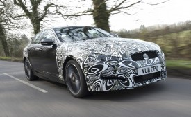 Jaguar Unveils A New 2.2 Litre Diesel Engine In The XF Prototype