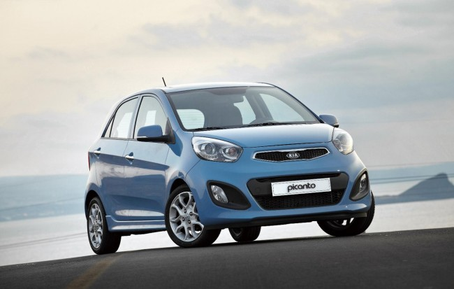 New Kia Picanto reaches UK Shores