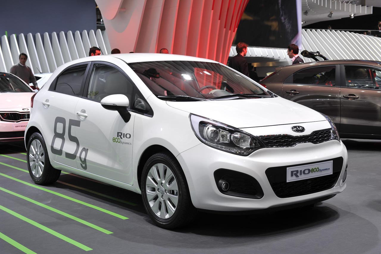 Kia Rio ecoDynamics live in Geneva