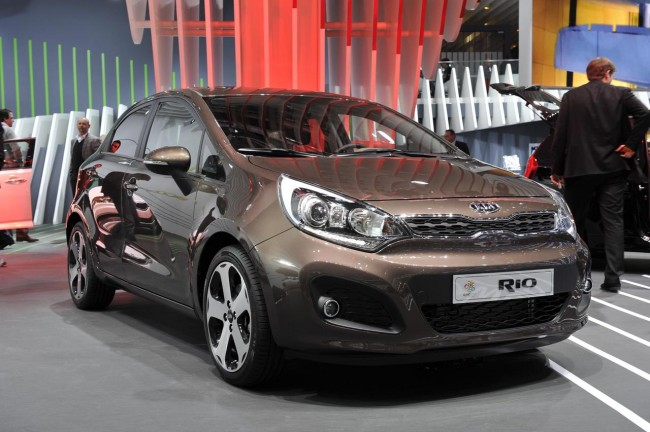 New Kia Rio and Picanto Debut In Geneva