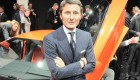 Stephan Winkelmann - Lamborghini Aventador LP700-4 live from Geneva