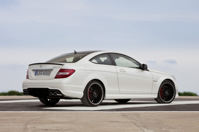 Mercedes-Benz C63 AMG Coupe with optional AMG Development Package