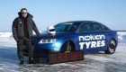 Nokian Tyres ice speed record with an Audi RS6 - Janne Laitinen 3