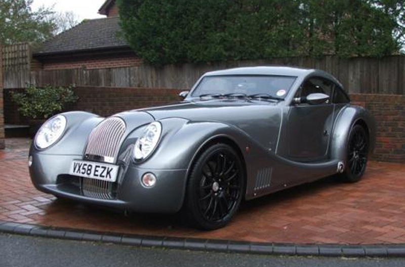 Richard Hammond's 2008 Morgan Aeromax