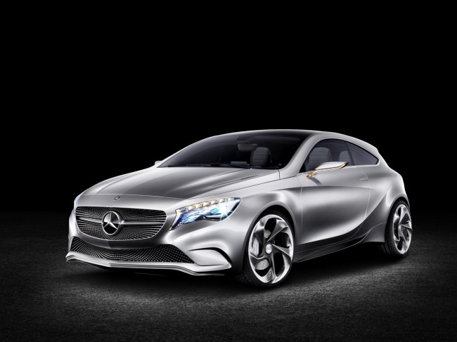 Mercedes Concept A-Class Revealed, Looks Fantastic!
