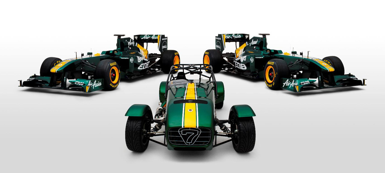 Team Lotus and Special Edition Seven