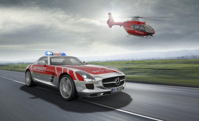 Mercedes SLS AMG Emergency Medical concept