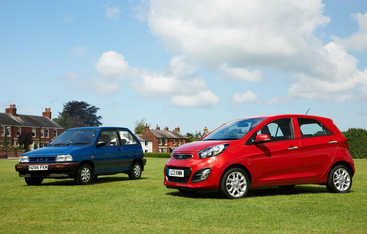 Kia Pride and Picanto