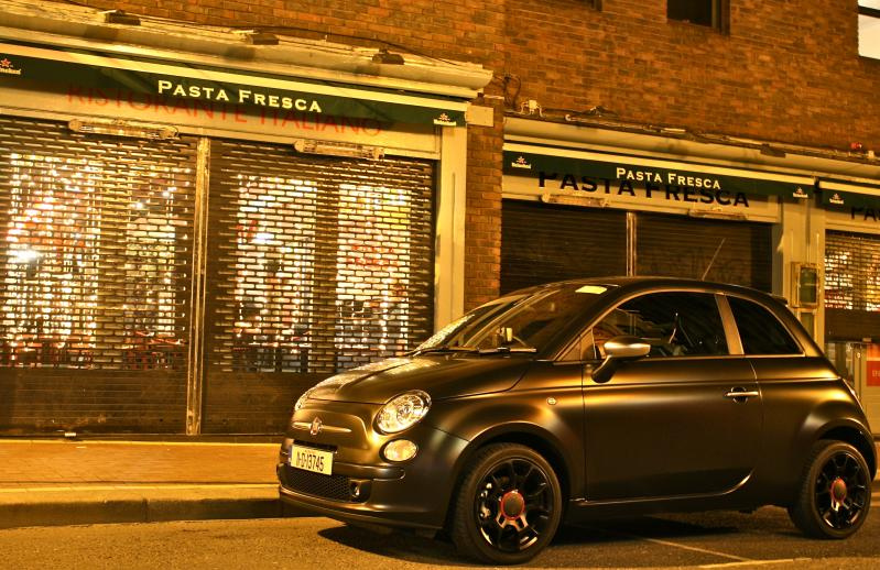Fiat 500 TwinAir Matt Black Edition