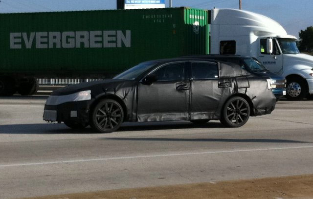 New Lexus GS Spied Testing Ahead of 2012 Launch