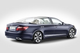 One-Off Lexus LS 600h Landaulet For Monaco Royal Wedding