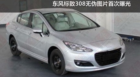 Peugeot 308 Saloon China