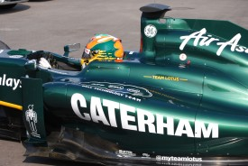 Caterham Gets Taste Of Formula 1 At British Grand Prix