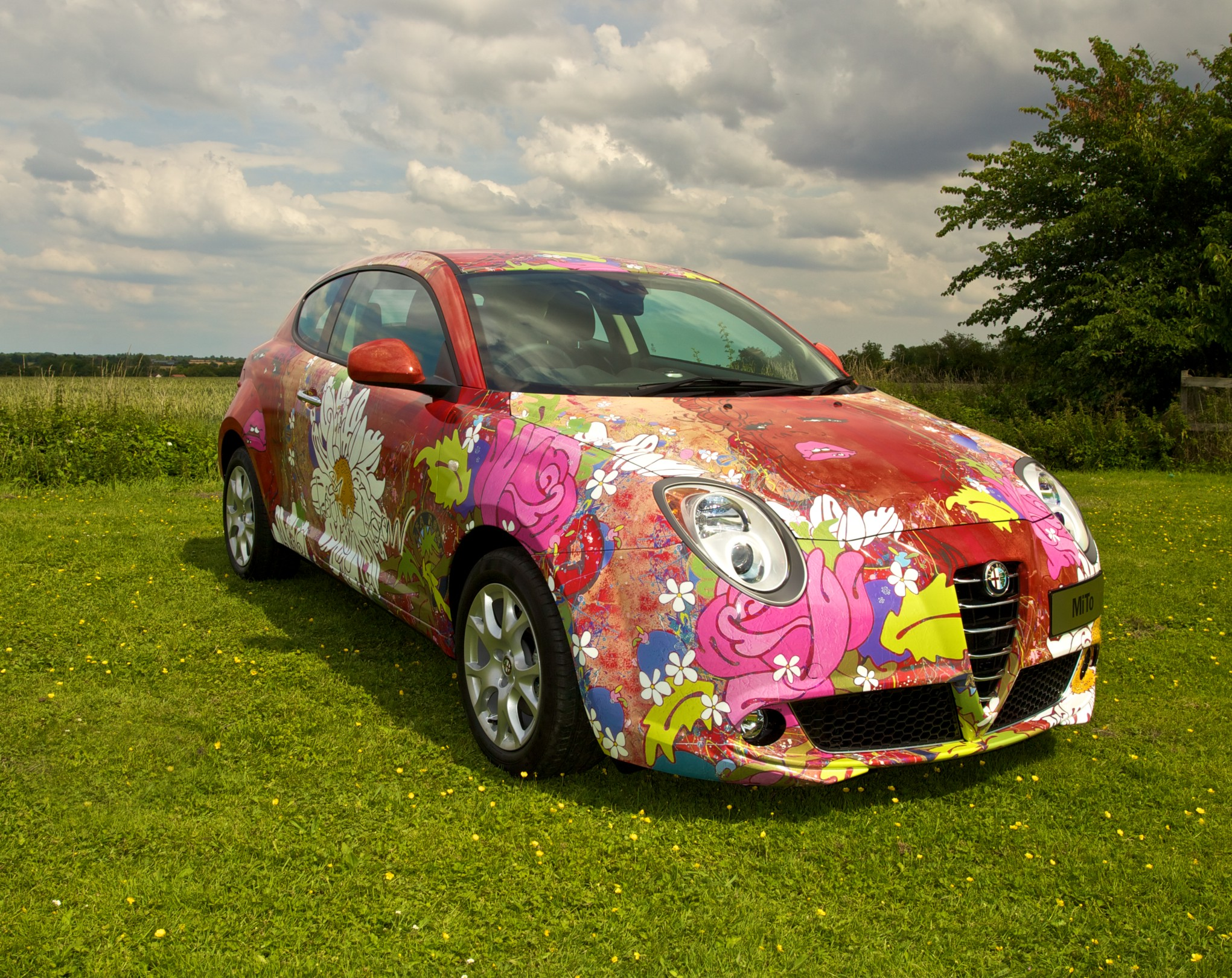 Alfa Romeo Mito art car