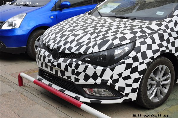 2013 MG5 Focus-Rival Spotted Testing In China — Spy Shots