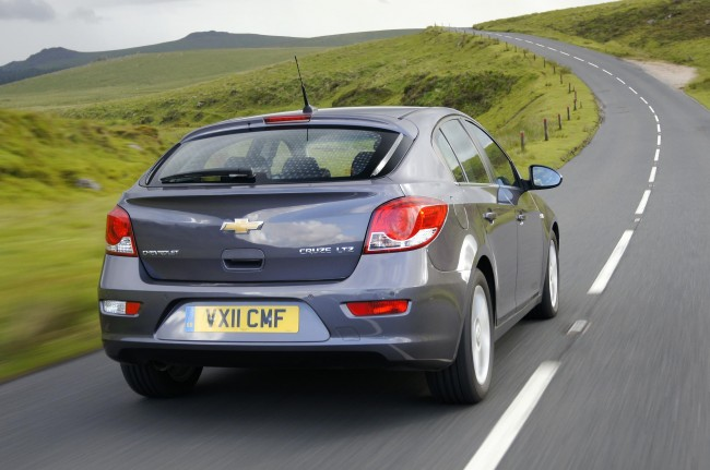 Chevrolet Cruze Hatch Goes on Sale At £13,995