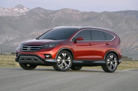 Concept Previews 2012 Honda CR-V