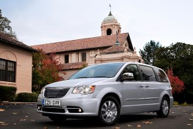 Chrysler Launches Revised Grand Voyager MPV