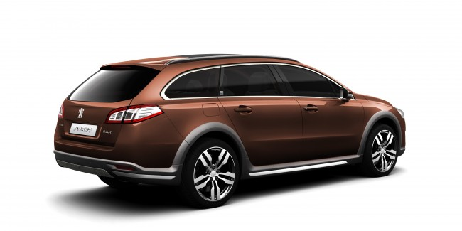 Peugeot Launches 508 SW RXH 'AllRoad' Estate — And It's A Hybrid