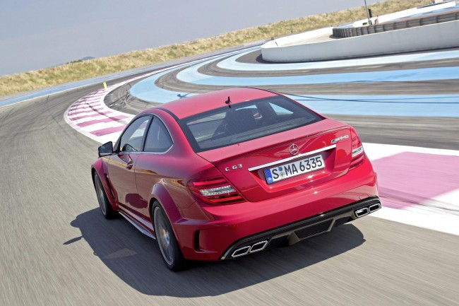 Official Pictures And Specs: Mercedes C63 AMG Black Series