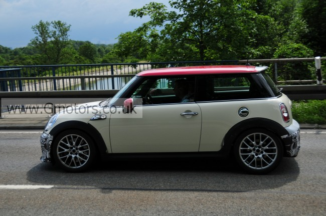 MINI John Cooper Works 'Challenge' Spy Shots – 'GP' Successor?